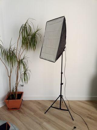 Kit foco iluminación fotografía