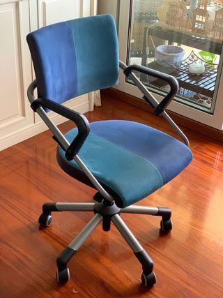 Silla con ruedas de escritorio