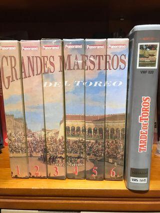 Colección Grandes Maestros Cintas VHS