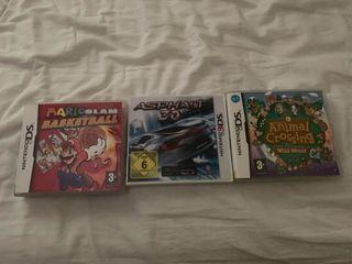 Juegos Nintendo ds, 3ds