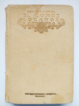 DON JUAN MANUEL, El Conde Lucanor (ed. 1920)