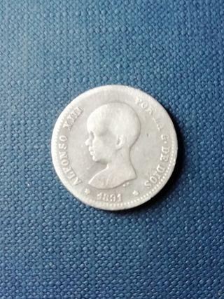 Moneda peseta de Alfonso XIII