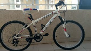 """Bicicleta 24"""" MTB de Aluminio QUER para niño"""
