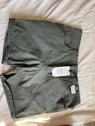 Slim shorts pantalones cortos bermudas