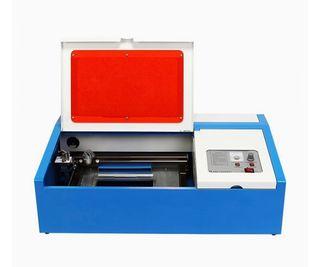 Máquina de grabado láser CO2, 40W con puerto USB