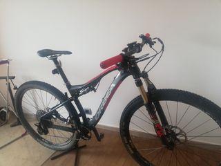 bicicleta doble suspension mtb Orbea oiz