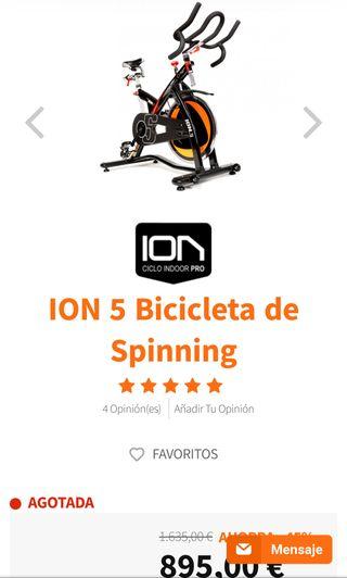 Bicicleta spinning 5 Ciclo Indoor