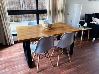 Mesa comedor estilo industrial