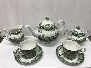 Juego de porcelana inglesa