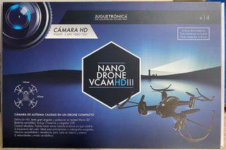 NANO DRONE con cámara de video y fotos