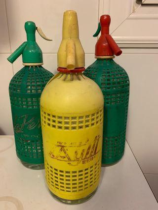 Botella sifon vintage