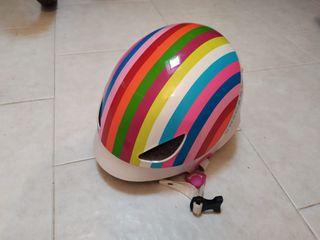 Casco de bici para niña