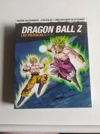 Dragon Ball Z edic. coleccionista Blu Ray + libro