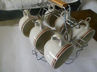 Tazas de Café. 6 tazas