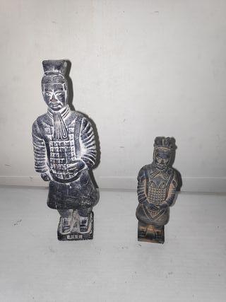 Preciosas Figuras samurai China chino tradición