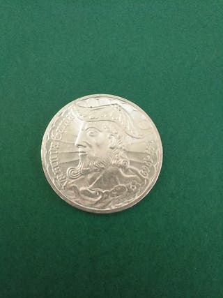 Moneda antigua de Plata de Portugal. 1969.