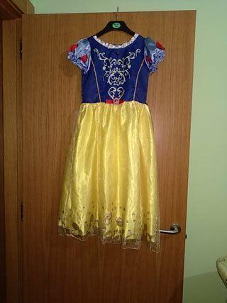 disfraz princesa Blancanieves de 140cm