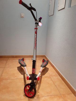 Patinete articulado (3 ruedas)