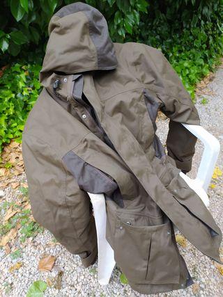 Cazadora impermeable + regalo pantalón caza 56