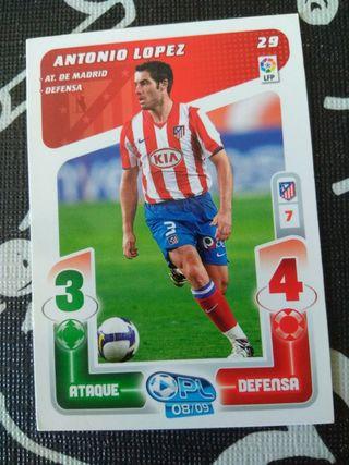 Antonio Lopez 29. Play liga 08 09. Panini