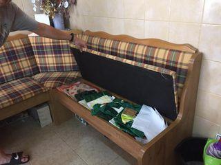 Sofa rinconera cocina