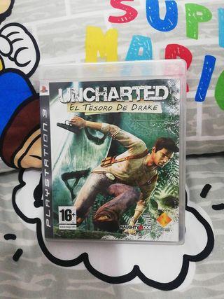 Uncharted El tesoro de Drake