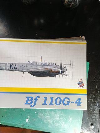 Bf-110 G4 1/48 Eduard Weekend Edition