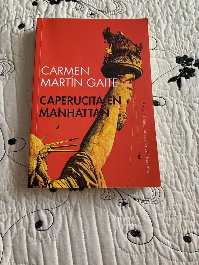 "Libro de lectura ""Caperucita en Manhattan"""