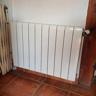 Lote 5 radiadores aluminio