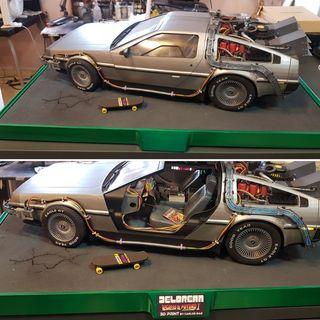 Maqueta fabricada en 3D, del coche Delorean!!