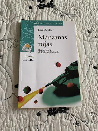 """Libro de lectura para instituto"""" Manzanas rojas """""""