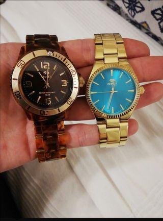 pack relojes marea. precios de los dos juntos.