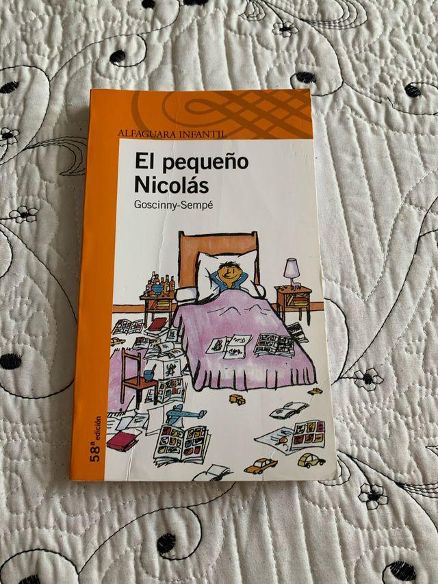 """Libro escolar infantil, """"El pequeño Nicolas"""""""