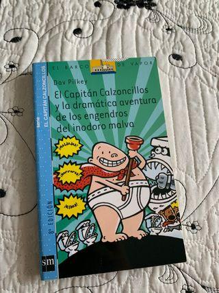"""Libro de lectura """" Capitán calzoncillos n°10 """""""
