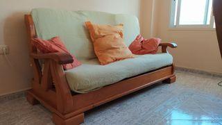 Sofá de pino