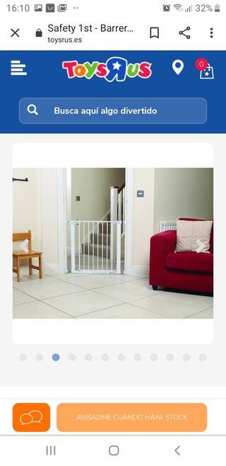 barrera de seguridad para puerta