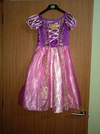 disfraz princesa Rapunzel talla 140 cm