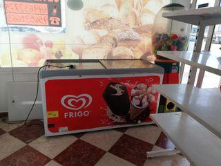 Arcón congelador de helados