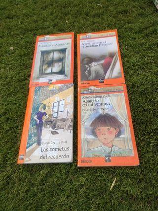 lote libros para niños. 9 años