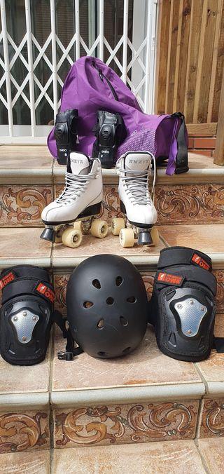 Equipo completo patines competición (T.35)