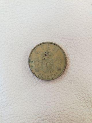moneda 100 pesetas de 1982
