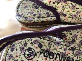 Zapatillas lona cuña verano