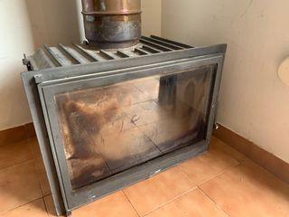 Estufa de leña casete