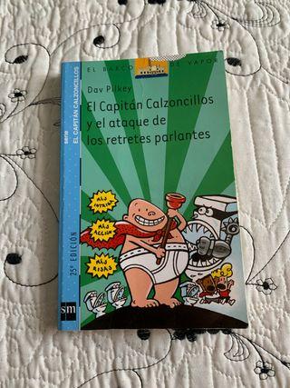 """Libro infantil """" capitán calzoncillos n°2 """""""