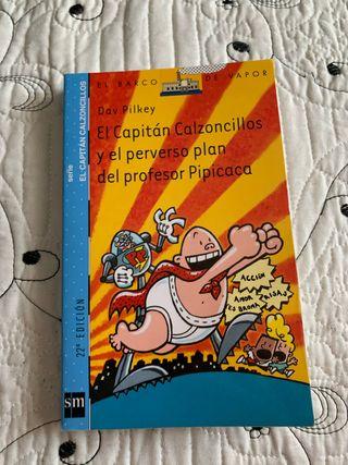 """Libro de lectura """" capitán calzoncillos n°4 """""""