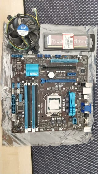 Placa base ASUS+ CPU i5-3570 + 8GB RAM + SSD 120GB
