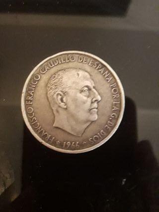 Moneda de 100 pts de Plata