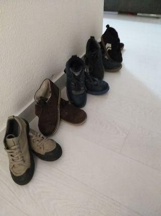 Lote de Zapatos niño Zara y primark