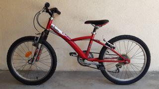 "Bicicleta infantil ruedas 20"" Decathlon"