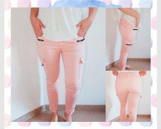 pantalones mango nuevos
